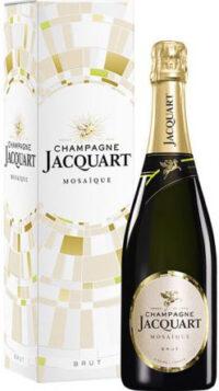 Champagne Jacquart Brut Mosaique gift box
