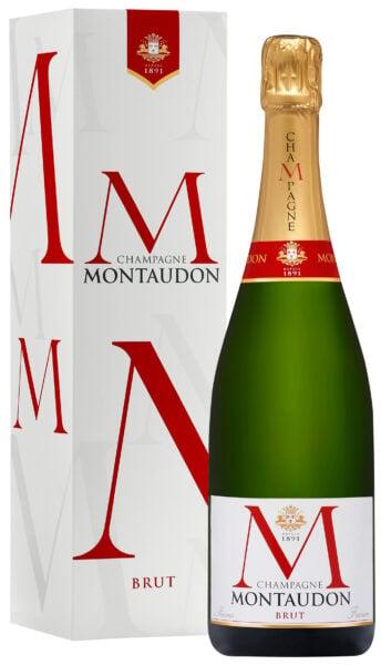 Champagne Montaudon Brut Gift Box NV