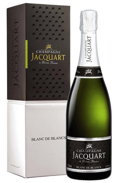 Champagne Jacquart Blanc de Blanc 2012 gift box