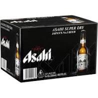 Asahi Super Dry bottle