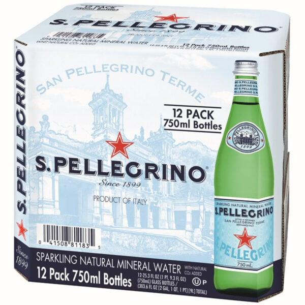 San Pellegrino Sparkling Mineral Water 750ml